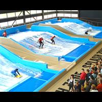 大型水上乐园设备水上游乐水滑梯玻璃钢滑板冲浪厂家定制