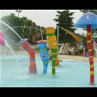 广州蓝潮水上乐园戏水小品水上游乐设施喷水三水柱