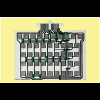 双层碳油薄膜开关板线路