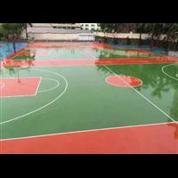 玉林硅PU篮球场、玉林首选户外硅PU球场设计一条龙
