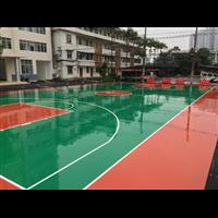 玉林塑胶秋球场、丙烯酸球场、硅PU篮球场