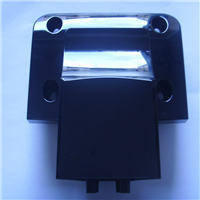 PC+ABS 黑色高光防火