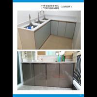 湛江橱柜多少钱-云浮不锈钢晶钢橱柜门款式新颖