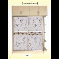 中山衣柜质量好-珠海压纹彩膜衣柜门厂价直销