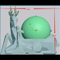 3D雕塑建模模型文件