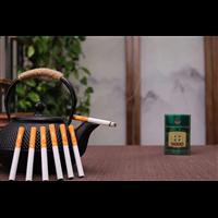 欧科龙井茶烟批发代理一手货源多少钱一条
