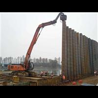 山东拉森钢板桩施工