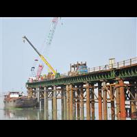 山东钢栈桥施工