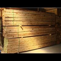 表面炭化木成品