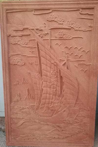 甘肃红砂岩浮雕
