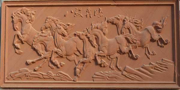 红砂岩浮雕厂家