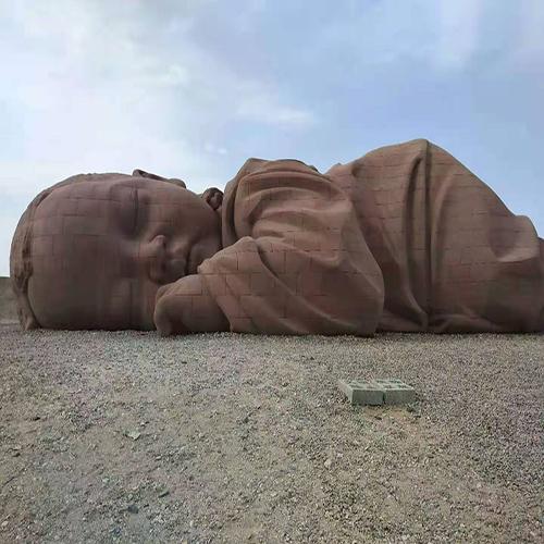 甘肃红砂岩雕塑