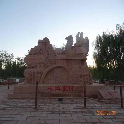 甘肃红砂岩景观工程