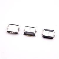 10P 苹果沉板2.4母座 iphone 7/8/8P母座沉板苹果尾插