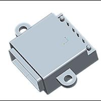 沉板式/3A大电流USB 2.0防水母座 带防水胶圈 防水等级IP68