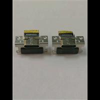 双排16P 公母一体  type-c母座 带螺母定位孔