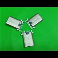 经典 9P 单排 SMT type-c公头 铆压款/拉伸款