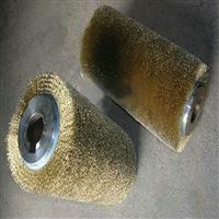 刷木地板拉丝钢丝辊 磨料丝弹簧刷 猪鬃管道刷