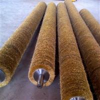 酸洗线钢丝辊 金属丝弹簧刷 竹地板纹路拉丝刷