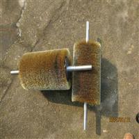 压片钢丝辊 打磨抛光弹簧刷 钢板不锈钢丝刷