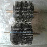 除锈刷钢丝辊 不锈钢弹簧刷 pp丝管道刷