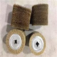 钢板抛光钢丝辊 除锈磨料丝弹簧刷 钢丝管道刷