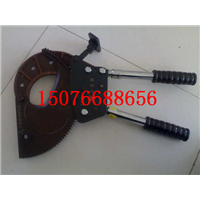 优质J25钢绞线断线剪齿轮式断线钳高低压线缆切刀