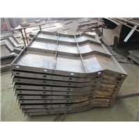 新型防撞墙模具 水泥防护墙钢模具 供应