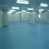 东莞黄江PVC防尘卷材地板/PVC耐磨卷材地板-百特净化