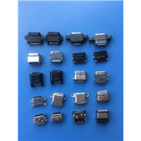 TYPEC系列防水尾插6P16P24P多种款式防水母座