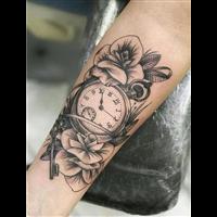 从化文艺刺青纹身作品 4