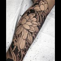 从化文艺刺青纹身作品 1