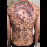 从化文艺刺青纹身作品 2