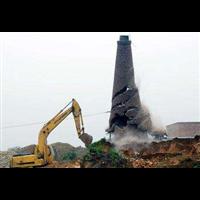 山东废弃烟囱拆除企业电话多少