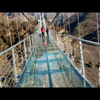 玻璃吊桥批发电话
