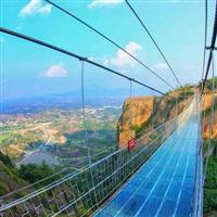 福建玻璃吊桥安装――玻璃吊桥安装