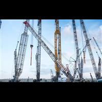 三明优质起重吊车公司租赁85吨履带吊