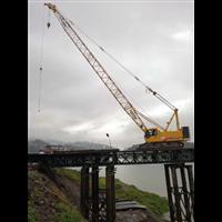 浙江湖州德清吊车公司出租三一85吨履带吊