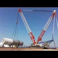 浙江温州平阳县吊车企业对外出租260吨履带吊
