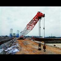 浙江温州苍南吊车企业出租70吨履带吊