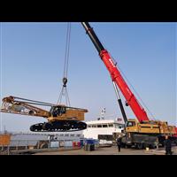 宁波舟山吊车出租公司优价租赁80吨履带吊