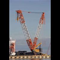 宁波海曙优质履带吊出租公司租赁85吨履带式吊车