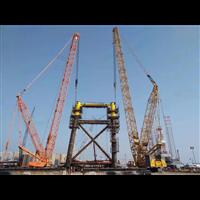 浙江温州乐清吊车出租100吨履带吊