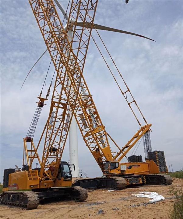 浙江嘉兴海宁吊装租赁公司出租50吨70吨80吨180吨履带吊