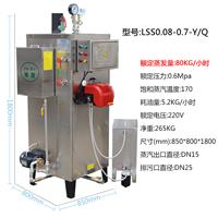 立式燃油蒸汽发生器