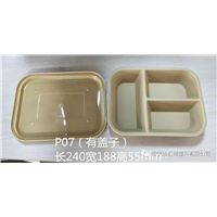 南宁三格塑料餐盘