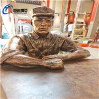 清远革命人物雕塑恒创玻璃钢定制厂家