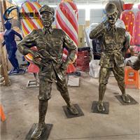 清远党建人物雕塑公园红色主题摆件