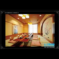 沈阳日本料理店装修设计需要搭配中式元素