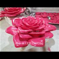仿真玫瑰花玻璃鋼雕塑裝飾仿真水果玻璃鋼雕塑